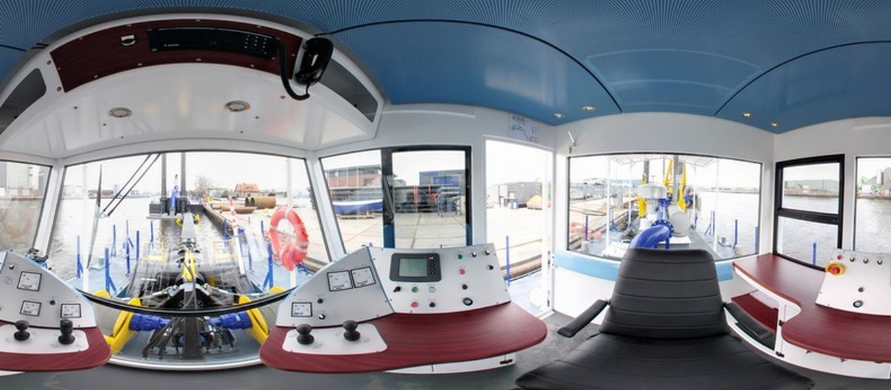 virtual tour of cutter suction dredger 250