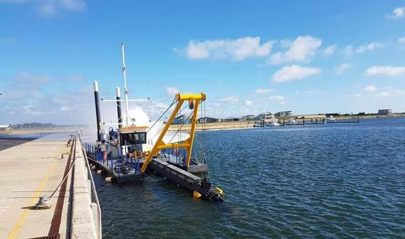 A CSD350 has been delivered to Kingston District Council and Cape Jaffa Development Company  located in Cape Jaffa, Southern Australia.
