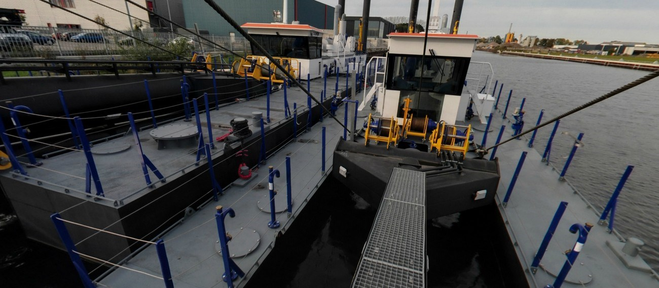 cutter suction dredger virtual tour