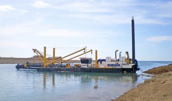 Damen Dredging Equipment delivered four cutter suction dredgers to the Iraqi Ministry of Water Resources