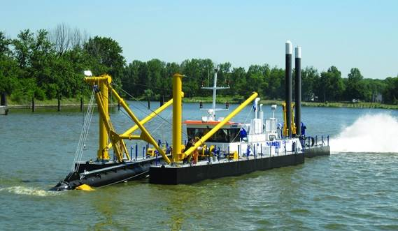 View the video about Cutter Suction Dredger 450