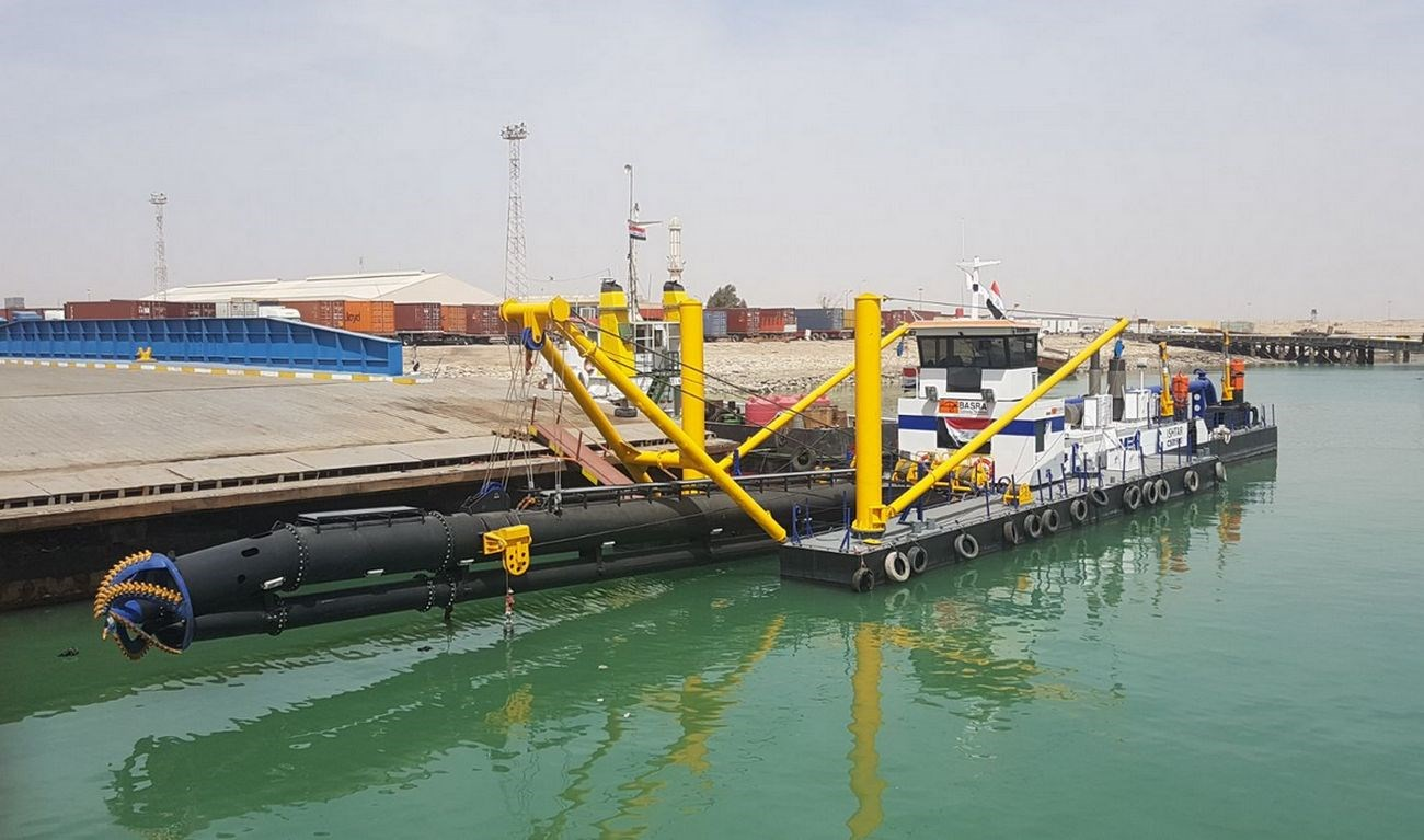 "Cutter Suction Dredger 500 ""Ishtar"""