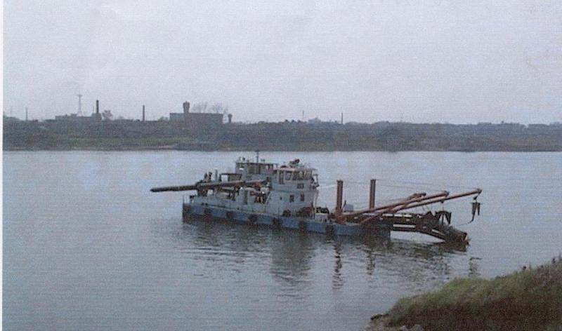"Damen Cutter Suction Dredger 500 ""JiangHe 054"", ""JiangHe 003"" and ""JiangHe 004"""