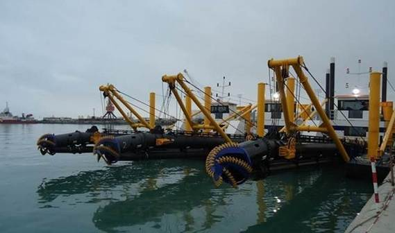Damen delivered three CSD 500s to the Ministry of Emergency Situation (MES) of Azerbaijan