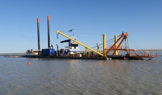 Van Oord has taken delivery of a CSD650, the largest cutter suction dredger in the Damen range.