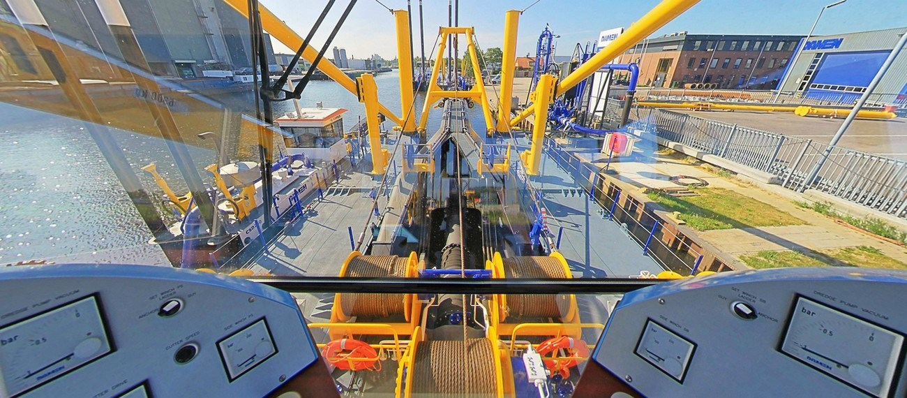 virtual tour of cutter dredger 650