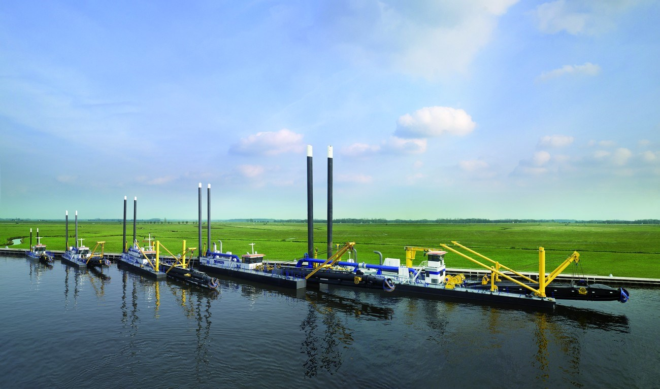Damen offers a wide range of standard stationary Cutter Suction Dredgers that are well known for their durability, power and multiple options