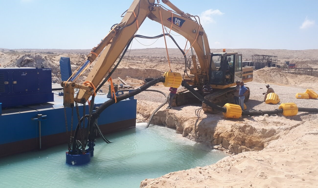 DOP Submersible Dredge Pump 150 - Hydraulically driven