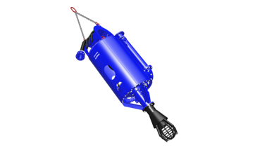 A wide array of easily exchangeable suction heads is available. This tailors the DOP for any specific dredging job at hand