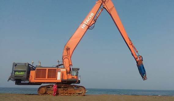 The plug and play design of the DOP make sure each dredge job is done effortlessly