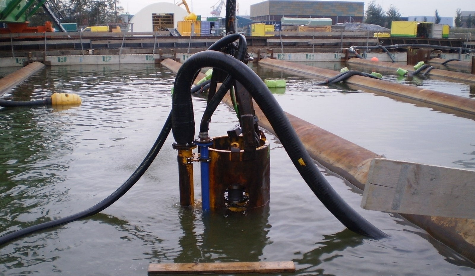 DOP Submersible Dredge Pump 200 - Hydraulically driven