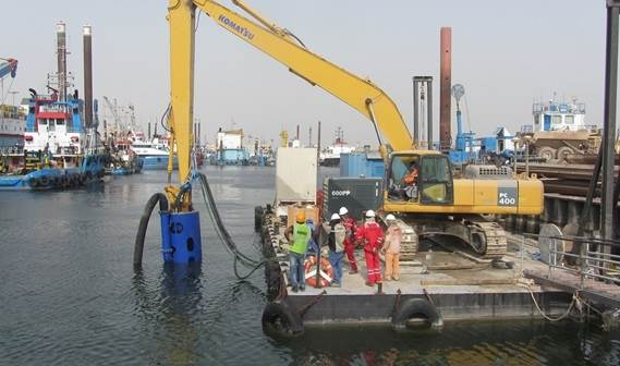 Submersible Dredge Pump Type Dop250 With Cutter Unit