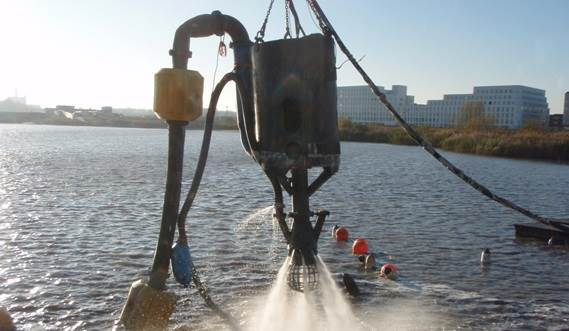 The DOP submersible dredge pump is a valuable sand mining tool
