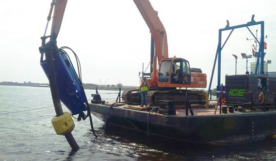 The DOP dredge package combined with local equipment results in a powerful dredging tool