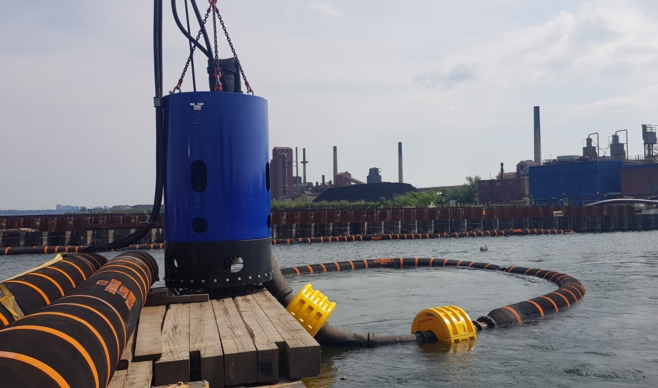 DOP Submersible Dredge Pump 350 - Hydraulically driven submersible