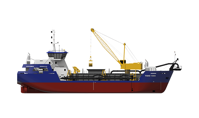 Damen Trailing Suction Hopper Dredger 1000