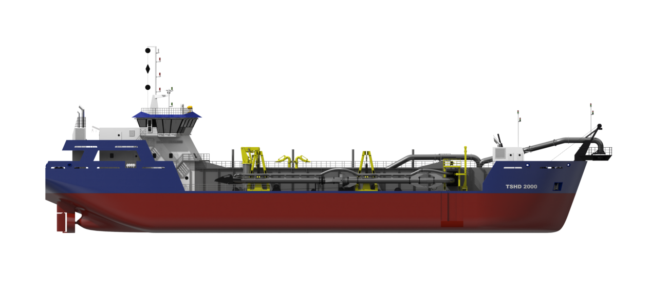 Functionality can be added to the dredger to fit your dredging job perfectly making use of the wide array of available options