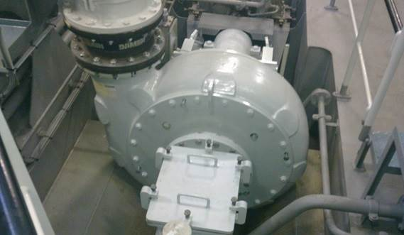 The high efficiency Damen dredge pump has been designed by the Damen R&D in house design team