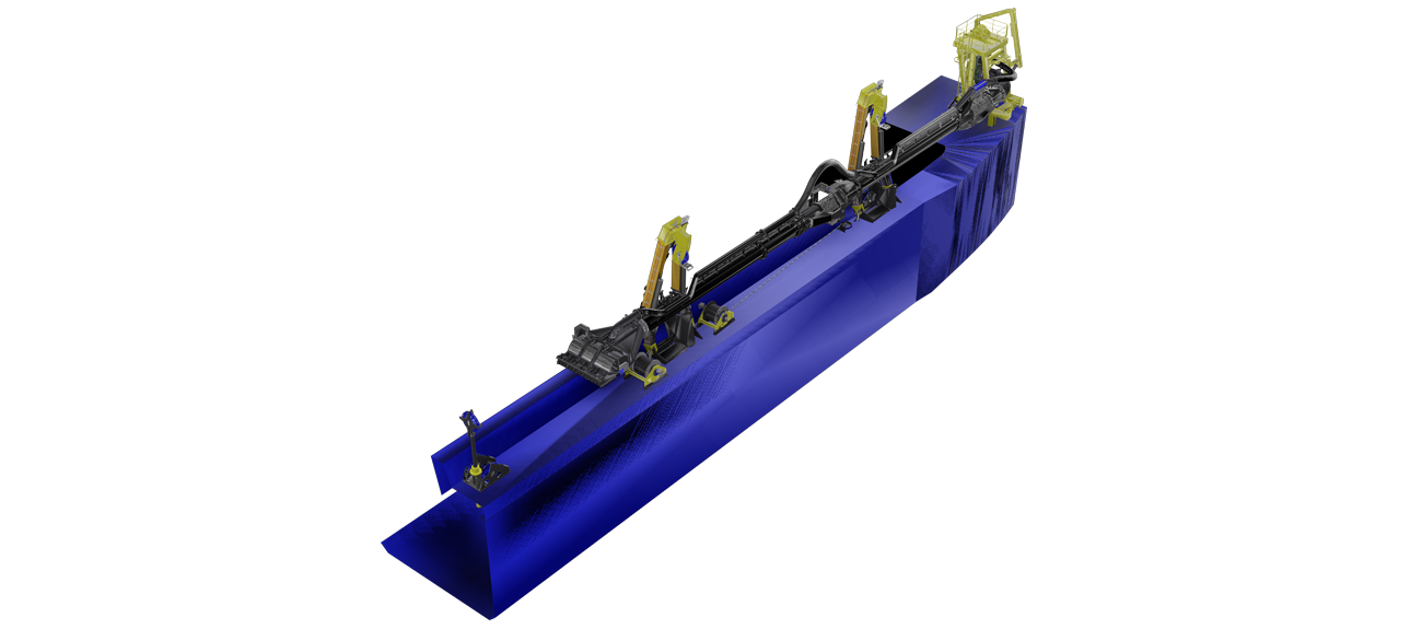 The wide range of standard dredging components combined with tailored elements where required results in a competitively priced system