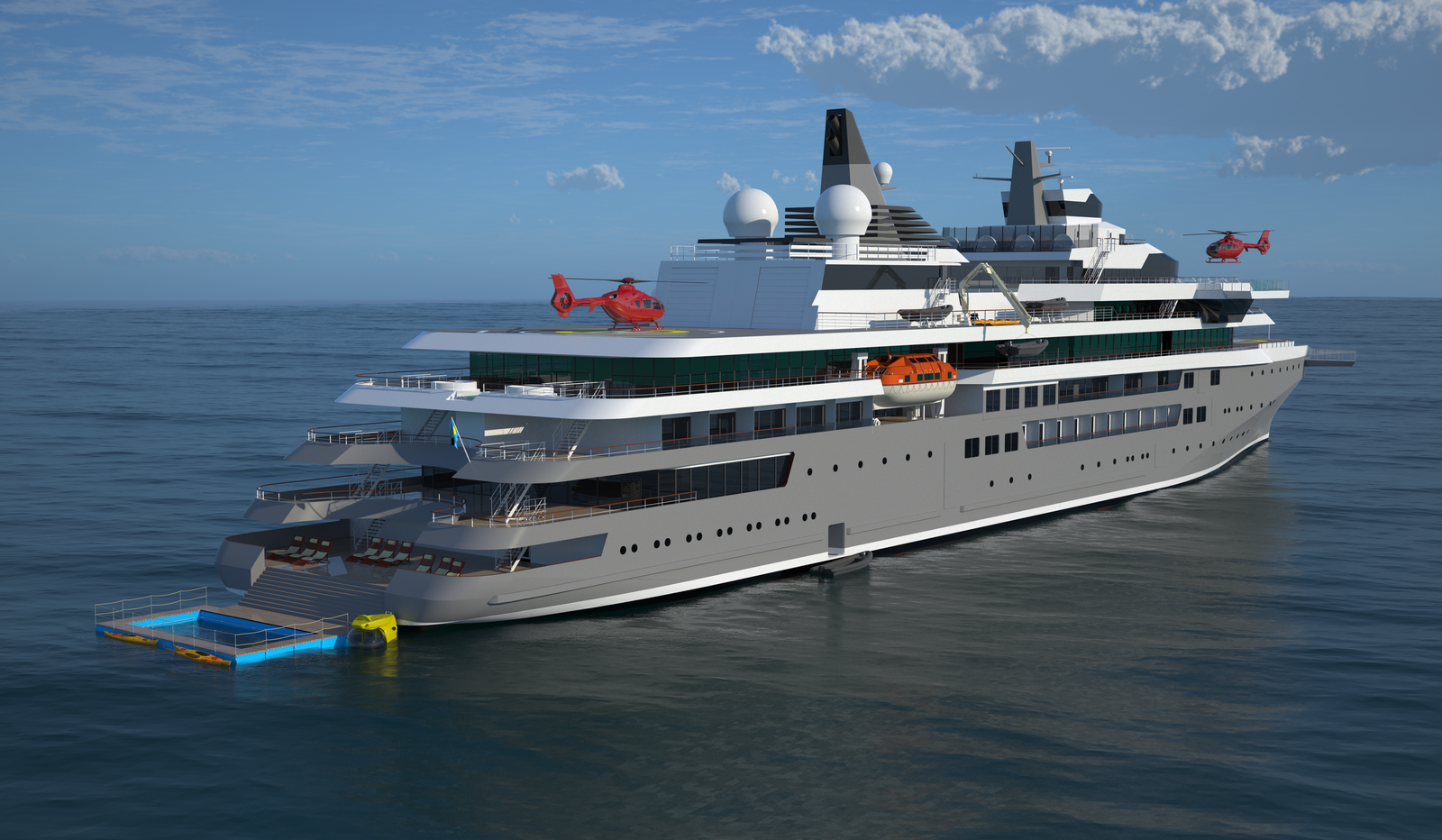 Expedition Cruise Vessel For Efficient And Safe Operations
