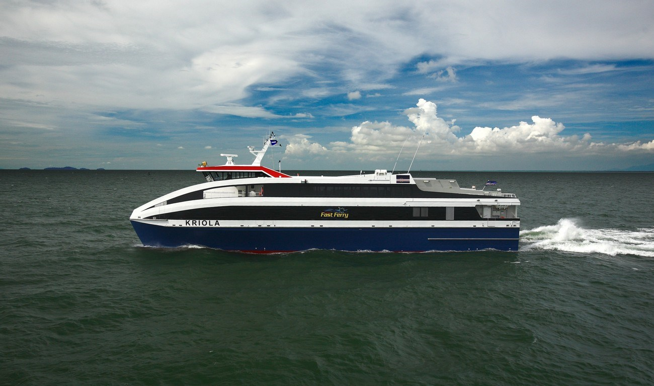 45 M Inter Island Ropax Ferry For The High Seas