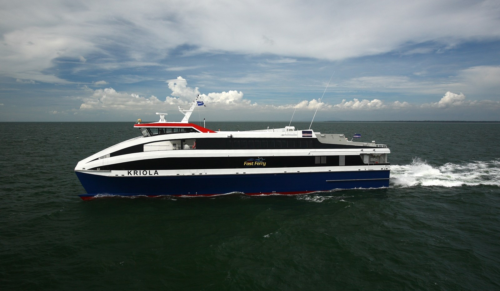 45 m inter-island Ropax Ferry for the high seas