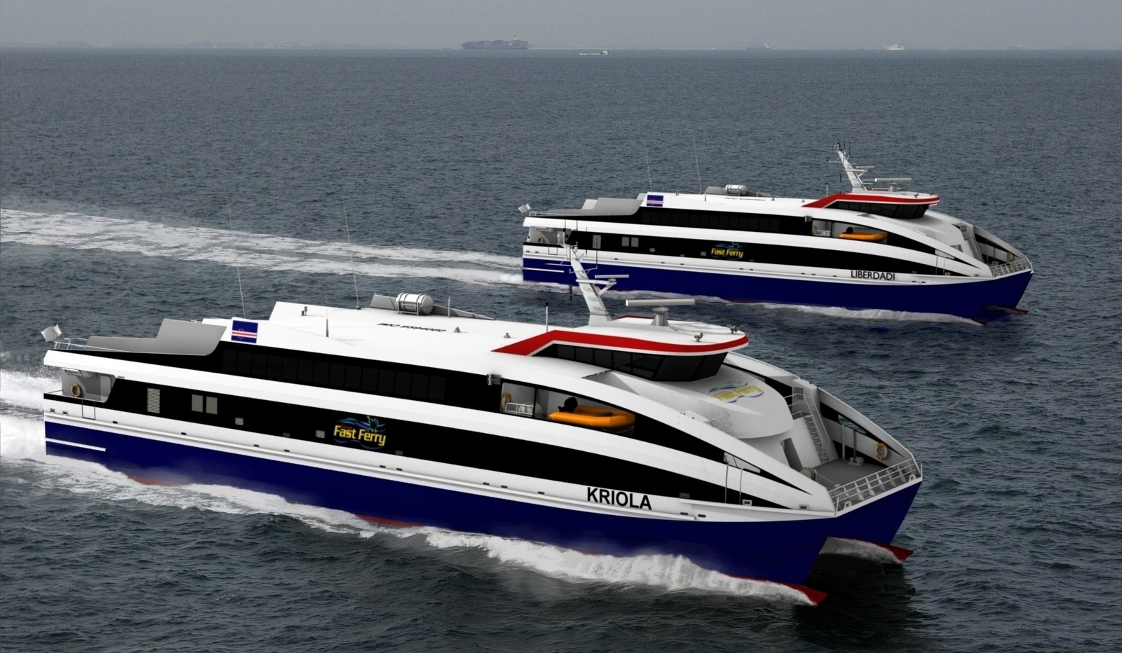"Damen Fast RoPax Ferry 4512 ""Kriola"" - Deliveries - Damen ..."