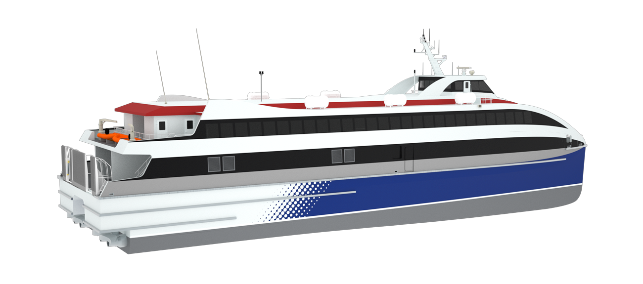 Damen RoPax Ferry designed for efficient operation