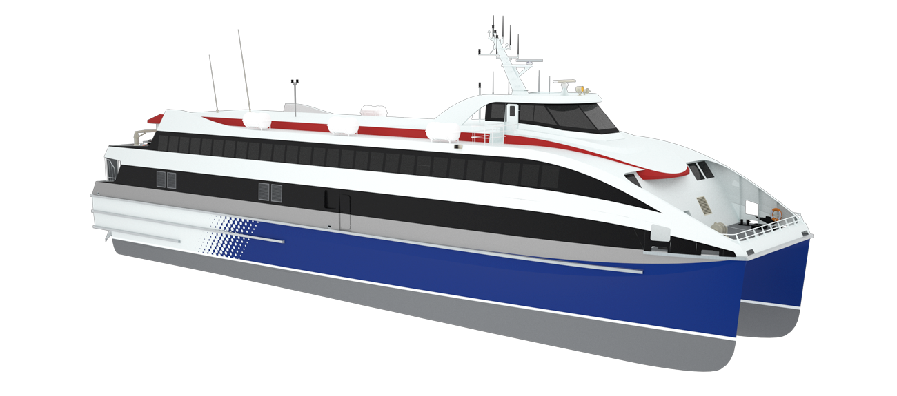 490 passengers can be served at Fast RoPax ferry 5114