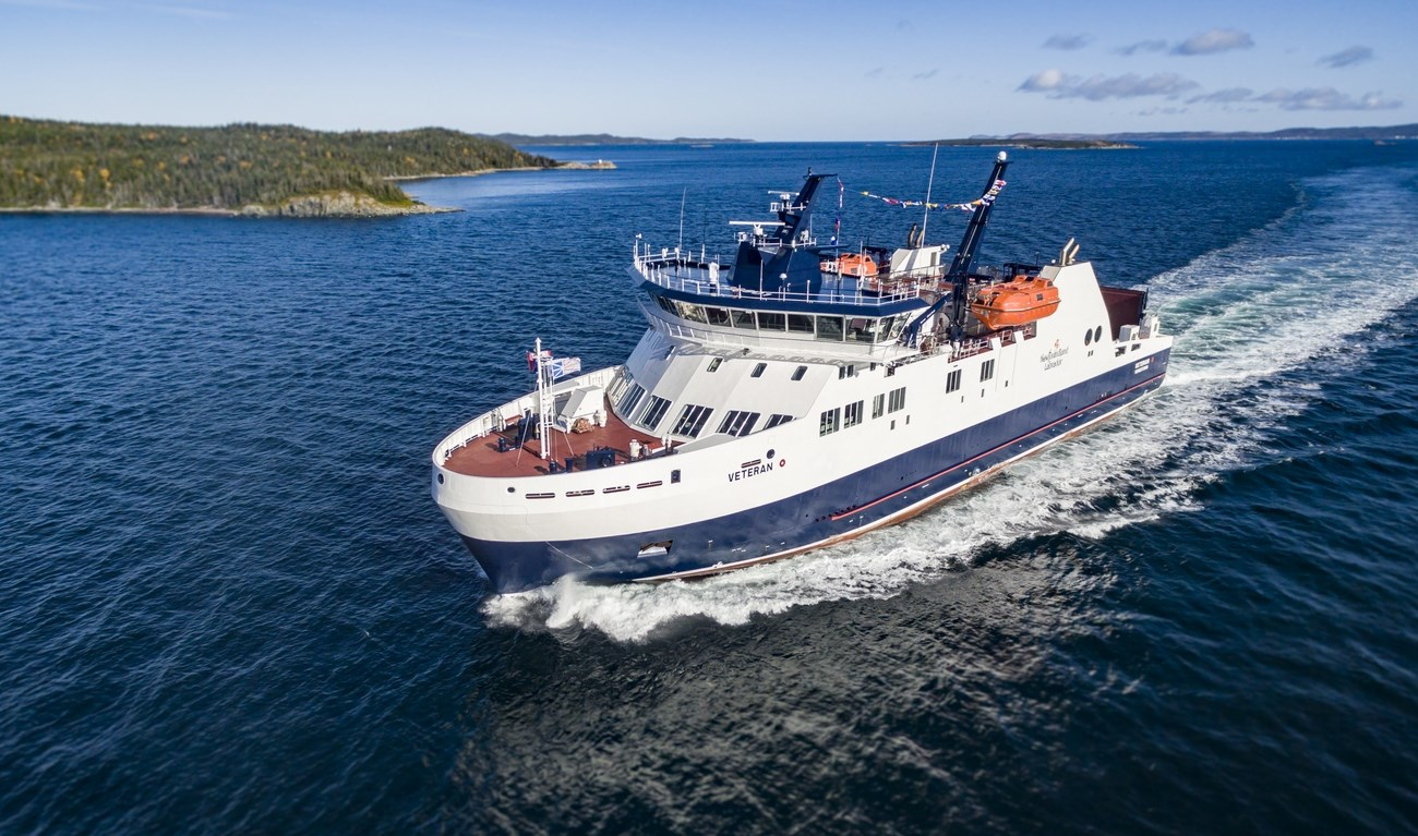 MV VETERAN is the first of a two-vessel contract, with a design stemming from a Canadian-Danish partnership between Fleetway and Knud E. Hansen