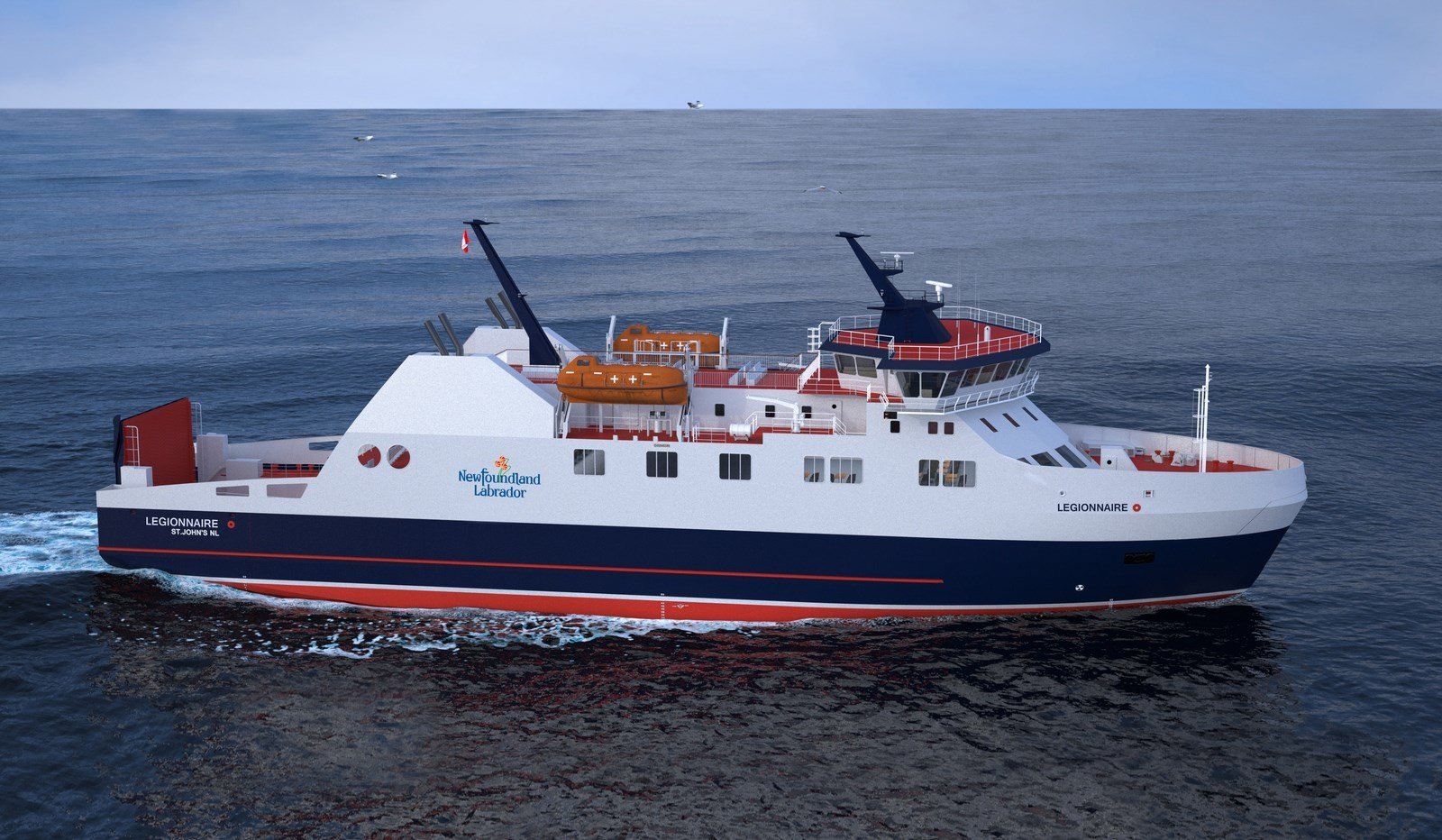 Highly Reliable 80 M Ropax Ship Of Contemporary Interior