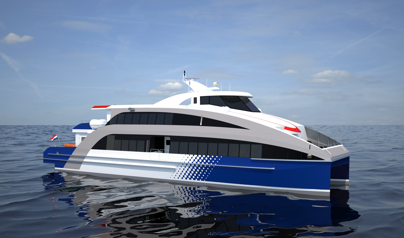 Fast Ferry up to 257 seats on only 32 metres in length.