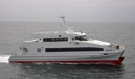 Due to its flexible interior it can be used for commuter routes, tourist lines or even dinner cruises.