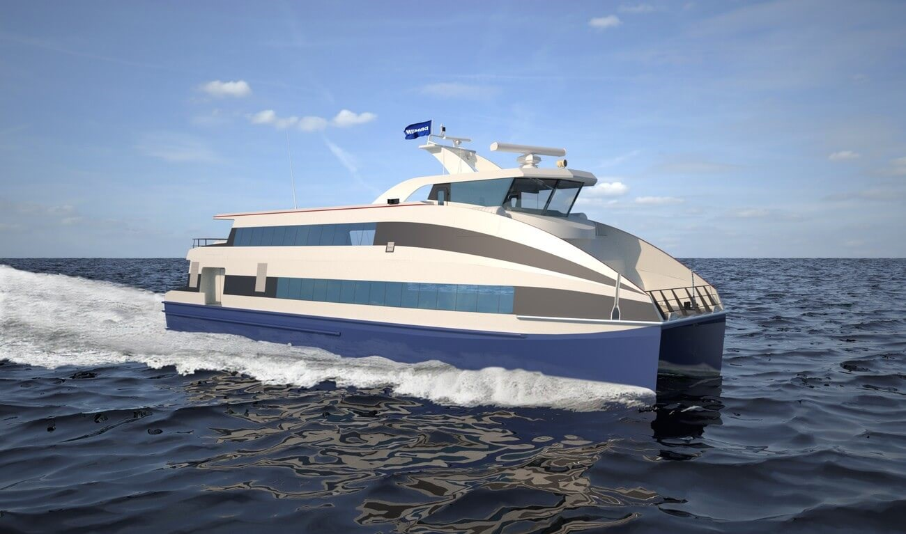 Damen Fast Ferry 3209: Up to 294 seats on only 32 m in length