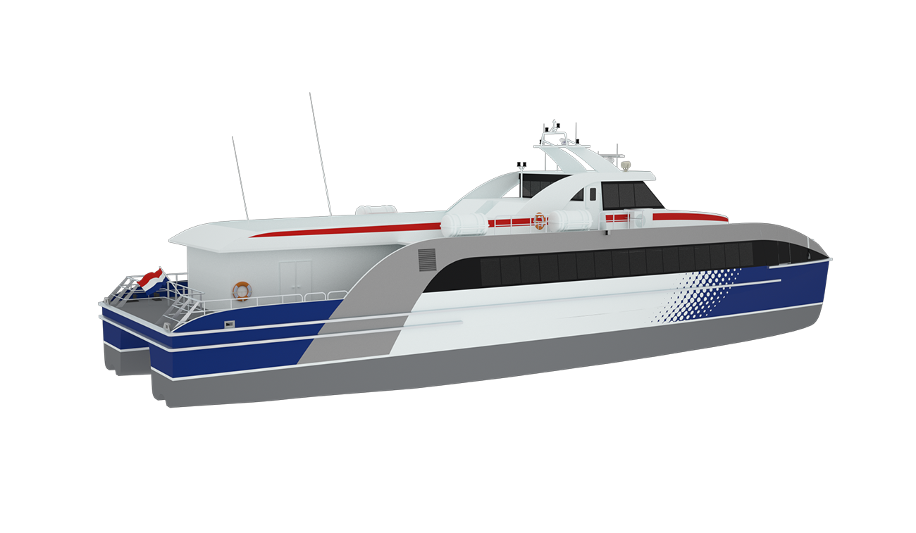 Most of our Fast Ferries are built at our ultra-modern yard Damen Shipyards Singapore