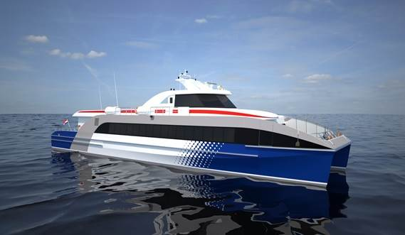 Each ferry is designed and engineered in full 3D