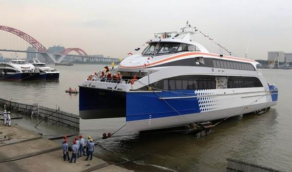 "Damen Fast Ferry 4010 CPP ""Queen Star 2"""