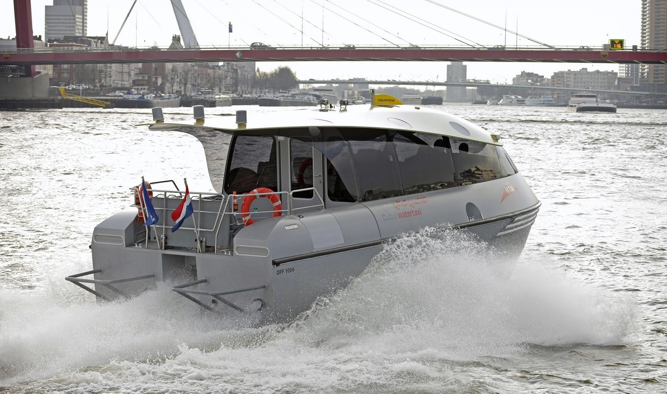 Damen Water Taxis are designed for on-demand passenger transport.