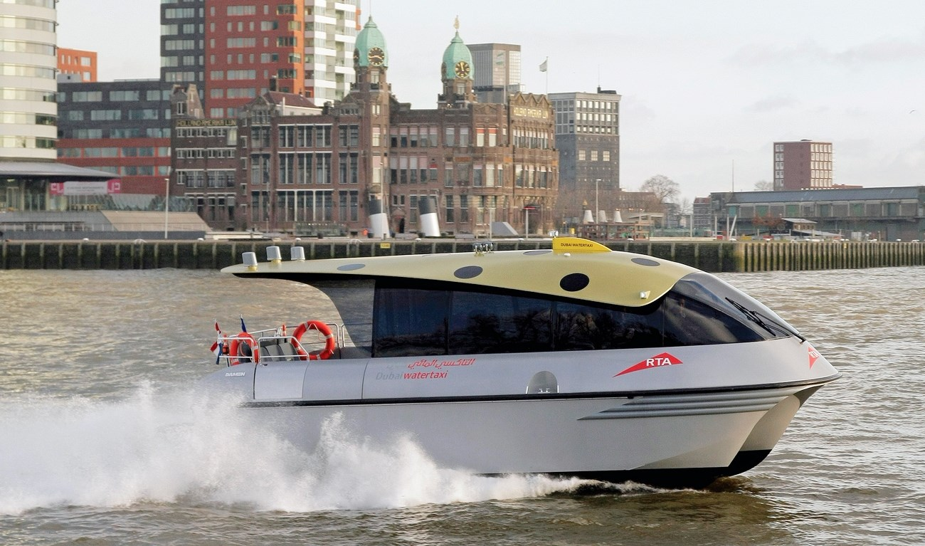 Damen has developed state-of-the-art, composite Water Taxis suitable for any operation.