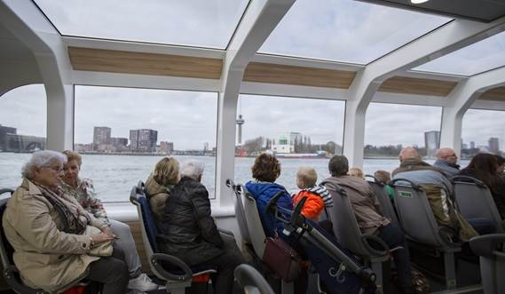 Damen Water Bus 2407 provides comfort with panoramic views