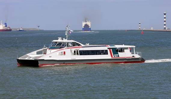The Damen Water Bus 3007 is a low wash, inland passenger vessel designed for regular bus-type transport systems.