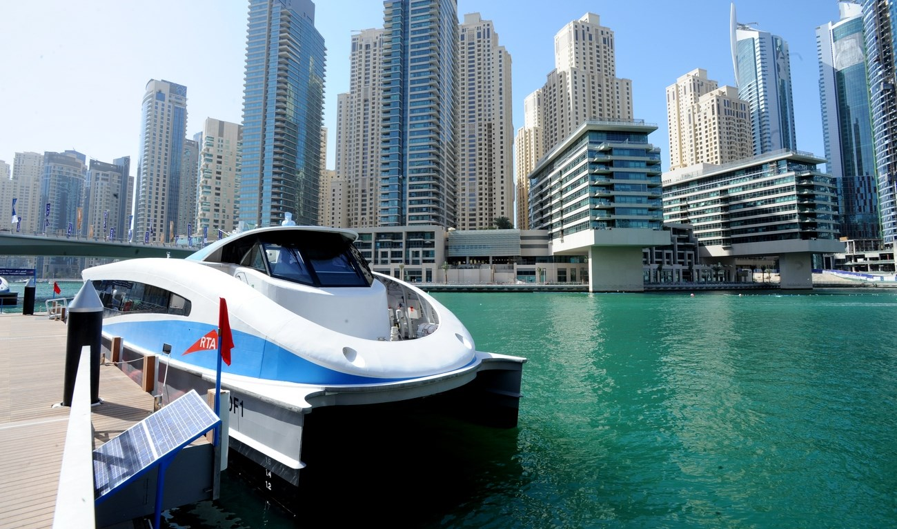 This iconic Dubai ferry illustrates Damen's ability to provide each operator with its own unique design.