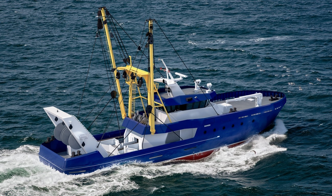 Damen Beam Trawler provides fishing efficiently in rivers, coastal waters and offshore