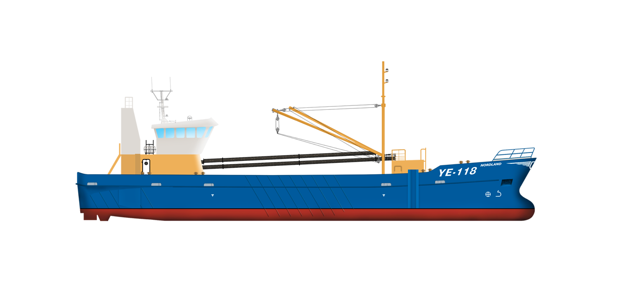 The ballast system is designed for making the vessel more stable in rougher seas