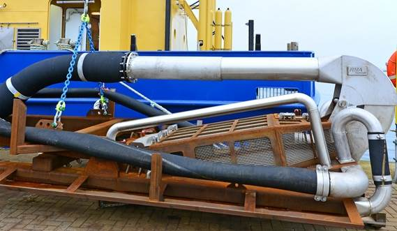Damen Razor Shell Dredger Keeps The Catch Alive