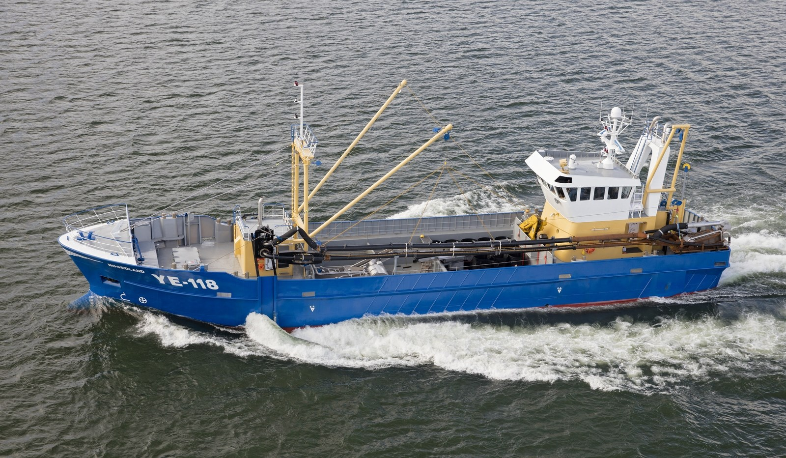 Razor shell dredger 4309 for What is commercial fishing