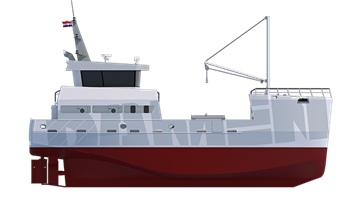 The Sea Fisher is of proven technical soundness with a constant availability of spare parts