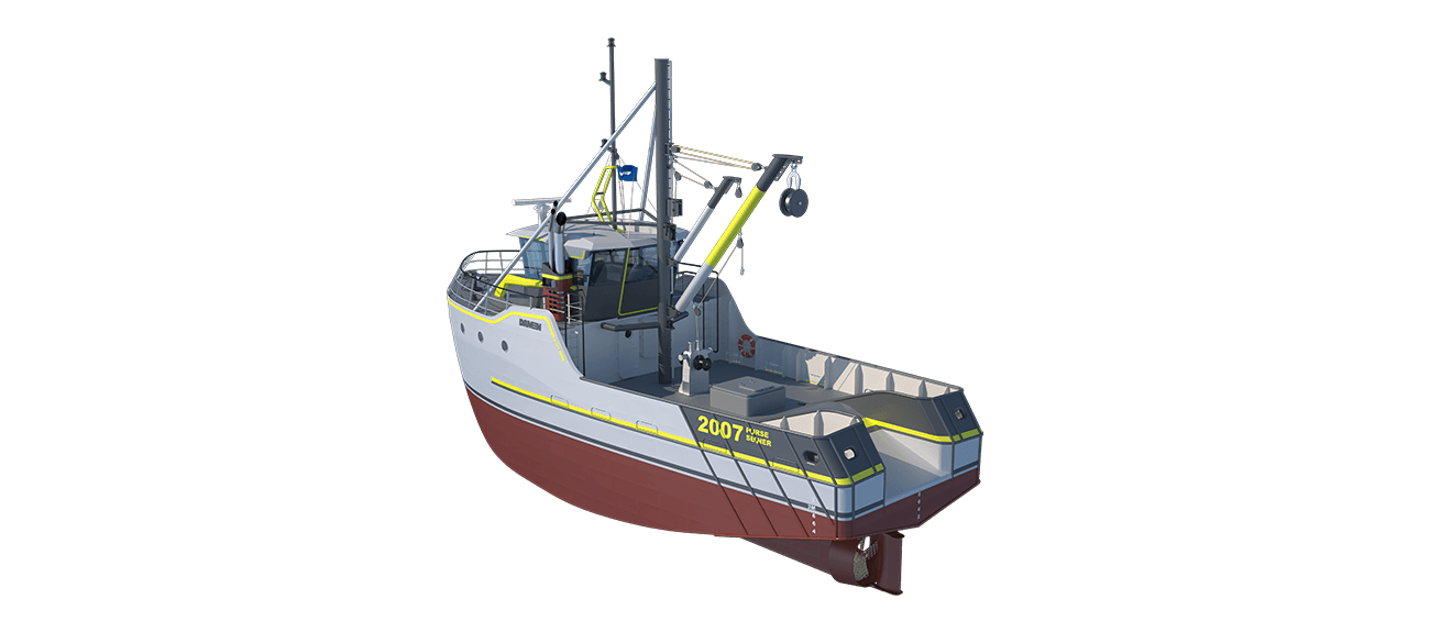 Sea Fisher 2007 - Purse Seiner perspective aft PS