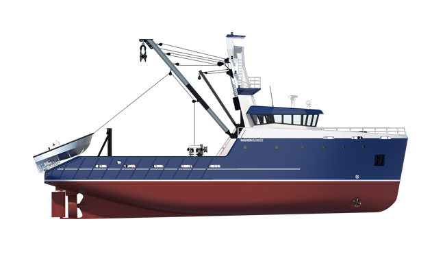 Sea Fisher 3208 Purse Seiner Provides The Crew With A
