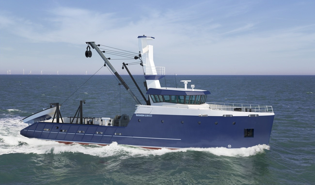 The Sea Fisher is of proven technical soundness with a constant availability of spare parts.